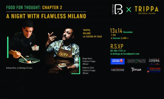 Trippa x Bottega - Food for Thought - Chapter 2